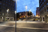 Square in the city of Bilbao. Province of Biscay, Spain — Stock Photo