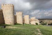 Medieval city walls of Avila, Castilla y Leon, Spain — Stock Photo