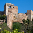 Alcazaba Castle in Malaga, Spain - Stock Photo