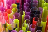 Drinking straw closeup — Stock Photo