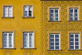 Warsaw windows — Stock Photo