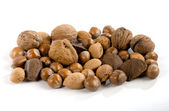 Nuts, dried fruits and nuts — Stock Photo