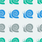 Snail pattern — Stockvektor