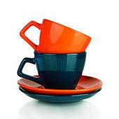 Xícara de café colorido 2 — Foto Stock