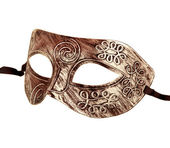 Vintage festive dress mask — Stock Photo