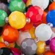 Stock Photo: Beautiful colorful beads background