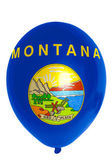 Balloon colored in flag of american state of montana — Stock Photo