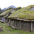 Stock Photo: Rebuild historic house in norway