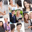 Interracial Men & Women Business Team - Stock fotografie