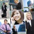 Interracial Men & Women Business Team — Stock Photo #13786181