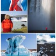Stock Photo: Montage Iceland Landscape Outdoor Lifestyle