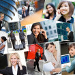 Montage of Successful Business Women — Stock Photo #26923283