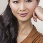 Portrait Beautiful Young Asian Chinese Woman — Stock Photo #31692847