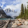 Stock Photo: Moraine Lake, Banff National Park, Alberta, Canada