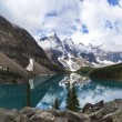 Moraine Lake, Banff National Park, Alberta, Canada — Stock Photo