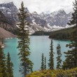 Stock Photo: Moraine Lake, Banff National Park,