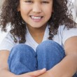 Happy Mixed Race African American Girl Child — Stock Photo #38623133