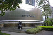 St. regis hotel em cingapura — Foto Stock