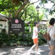 Panning view of Singapore Botanical Gardens — Stock Video