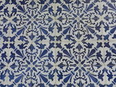Traditional blue and white tiles — Stock Photo