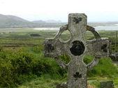 Old irish cross — Stock Photo