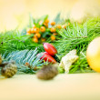 Decoration for Merry Christmas and Happy New Year — Stock Photo