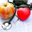 Stock Photo: Health care and healthy living