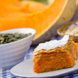 Stock Photo: Pumpkin pie - pumpkin cake