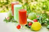 Healthy smoothie — Stock Photo