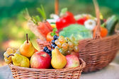 Fresh organic  fruits close-up — 图库照片