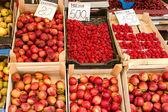 Bio ovoce ze Srbska — Stock fotografie