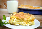 Cheese pie — Stock Photo