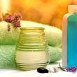 Spa treatment ( aromatherapy) - aromatic, essential oil — Stock Photo #41504903