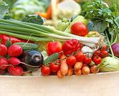 Legumes orgânicos frescos — Foto Stock