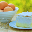 Stock Photo: Cream cake - Cream pie