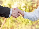 商务上的握手 — — 成功的企业 — 图库照片