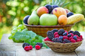 Berry fruit - Healthy food — Stock Photo
