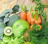 Vegetarian food - healthy food — Stock Photo