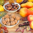 Постер, плакат: Autumn fruit autumn harvest