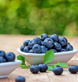 Fresh organic blueberry — Stock Photo