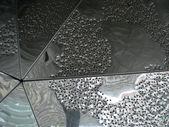 In alluminio perforato — Foto Stock