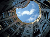 La Pedrera 100 years: Atrium — Stock Photo