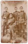 Soldiers, Greco-Bulgarian war, 1925 — Stock Photo