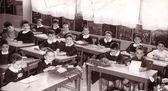 Pupils c.1960 — Stock Photo