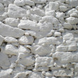 Whitewashed masonry wall — Stock Photo