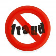 Stock Photo: Fraud alert