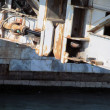 Stock Photo: Bascule bridge structure