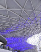 Kings Cross railway station — Stock Photo