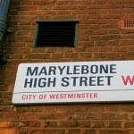 Marylebone High Street — Stock Photo