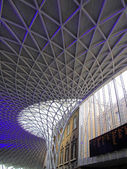 London Kings Cross — Stock Photo